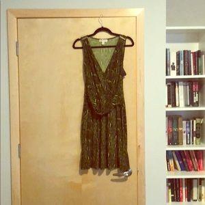 Michael Kors snakeskin party dress